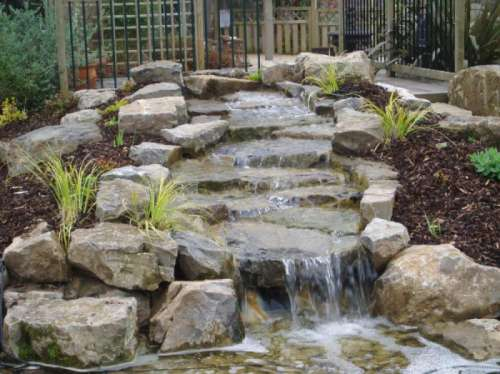 Landscaping Waterfall water feature