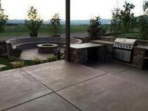 outside kitchen Landscape services